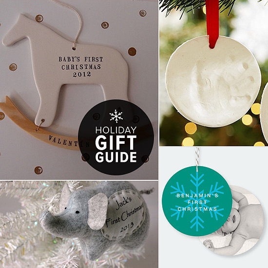 Adorable Ornaments to Celebrate Baby's First Christmas