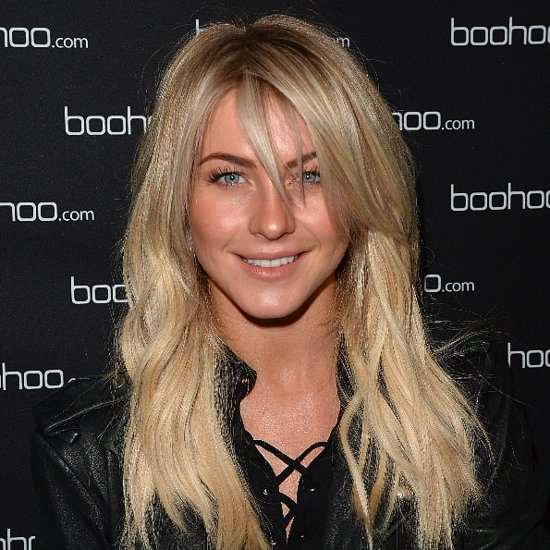 Julianne Hough With Hair Extensions at Boohoo.com Event