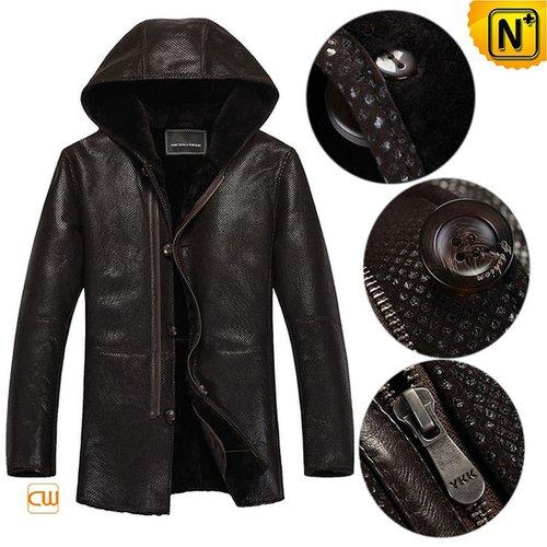 Sheepskin Shearling Coats for Men CW877193