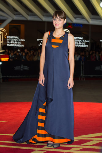 Marion Cotillard at the Marrakech Film Festival