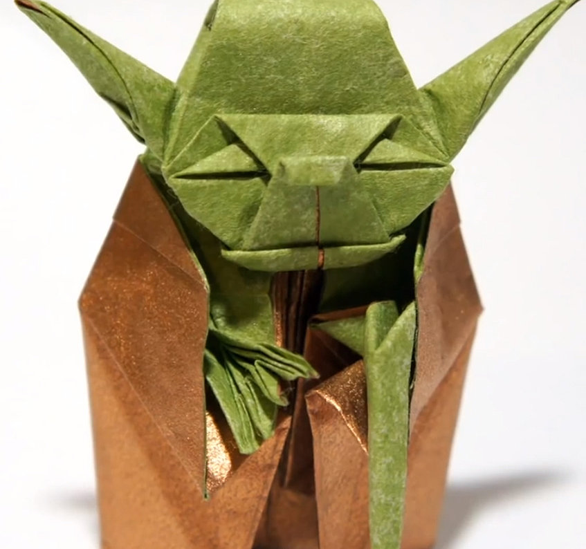 How To Make An Origami Yoda Van Jahnke