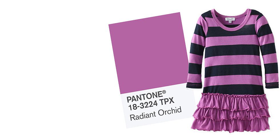 Dress Her to Impress in Pantone's Color of the Year