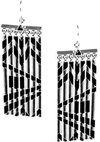 House of Harlow 1960 Jewelry Fringe Earrings