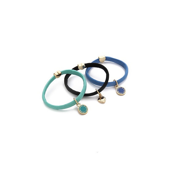 Kick up your ponytail style with the Marc by Marc Jacobs Classic Marc Pony Ties ($32). It comes with three colorful charmed hair ties, making it a great gift for any girl, whether she's 8 or 38.