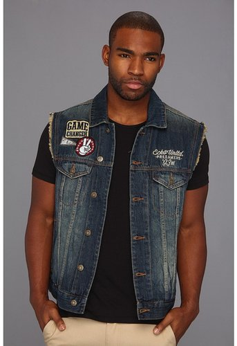 Ecko Unltd - Nitro Wash Denim Vest (Nitro Wash) - Apparel