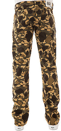 Rustic Dime The Slim Twill Pants in Bubble Camo