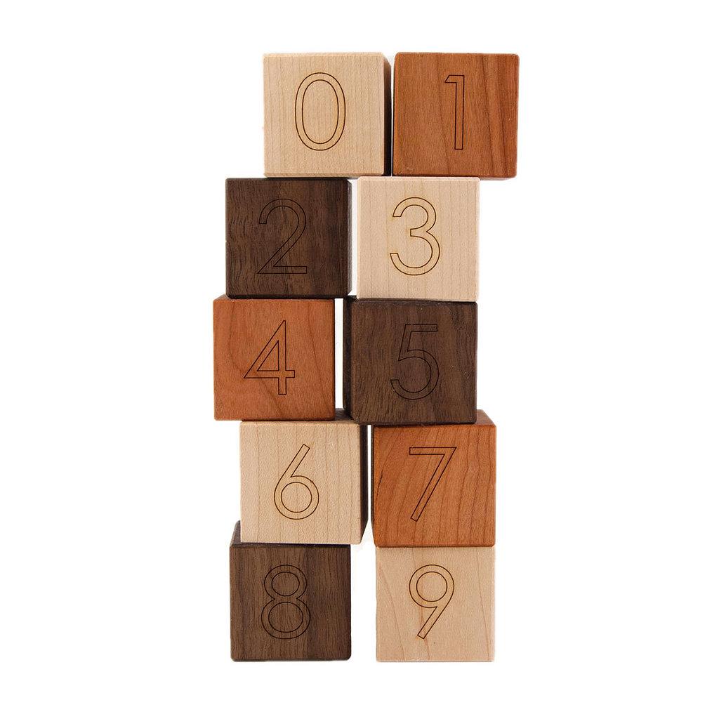 Little Sapling Toys Number Blocks ($19)