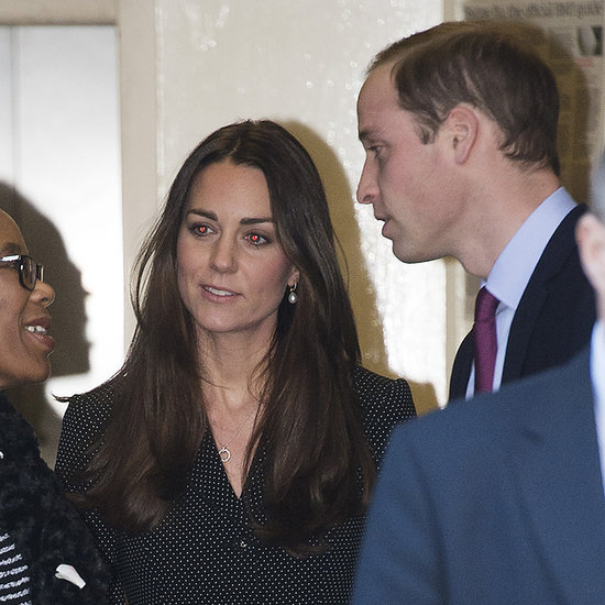 Prince William and Kate Middleton at South Africa House