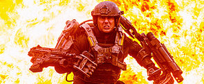 Tom Cruise Is Literally Back in Action in Edge of Tomorrow