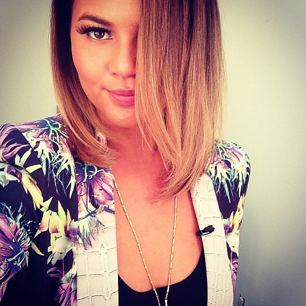 Chrissy Teigen showed off a chic new haircut — thoughts? Source: Instagram user chrissyteigen