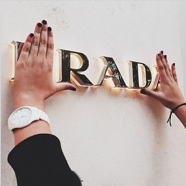 A clever way to remember that fashion can be hip too. Source: Instagram user thecoveteur