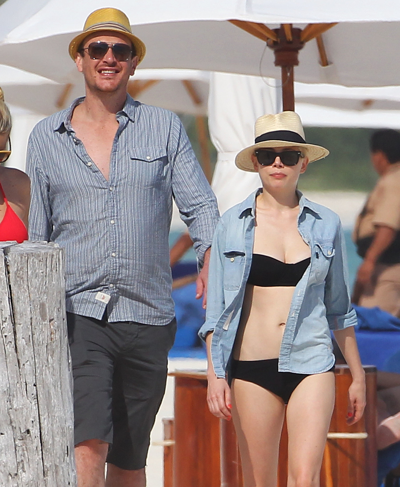 Jason Segel and Michelle Williams