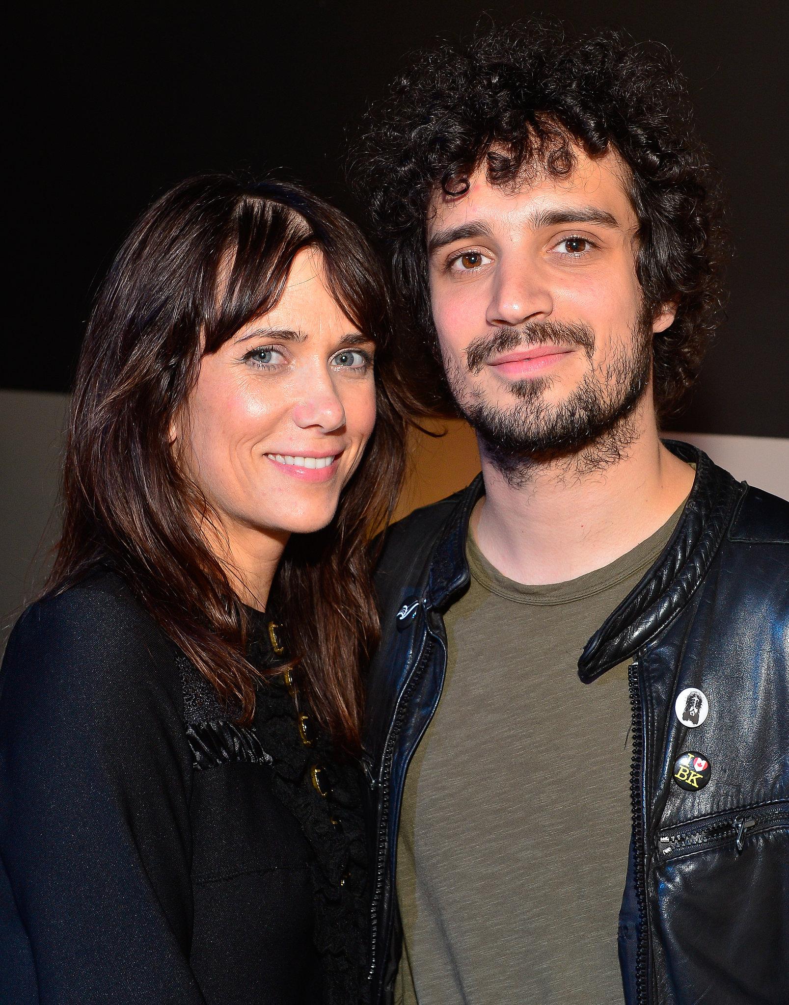 Kristen Wiig and Fabrizio Moretti