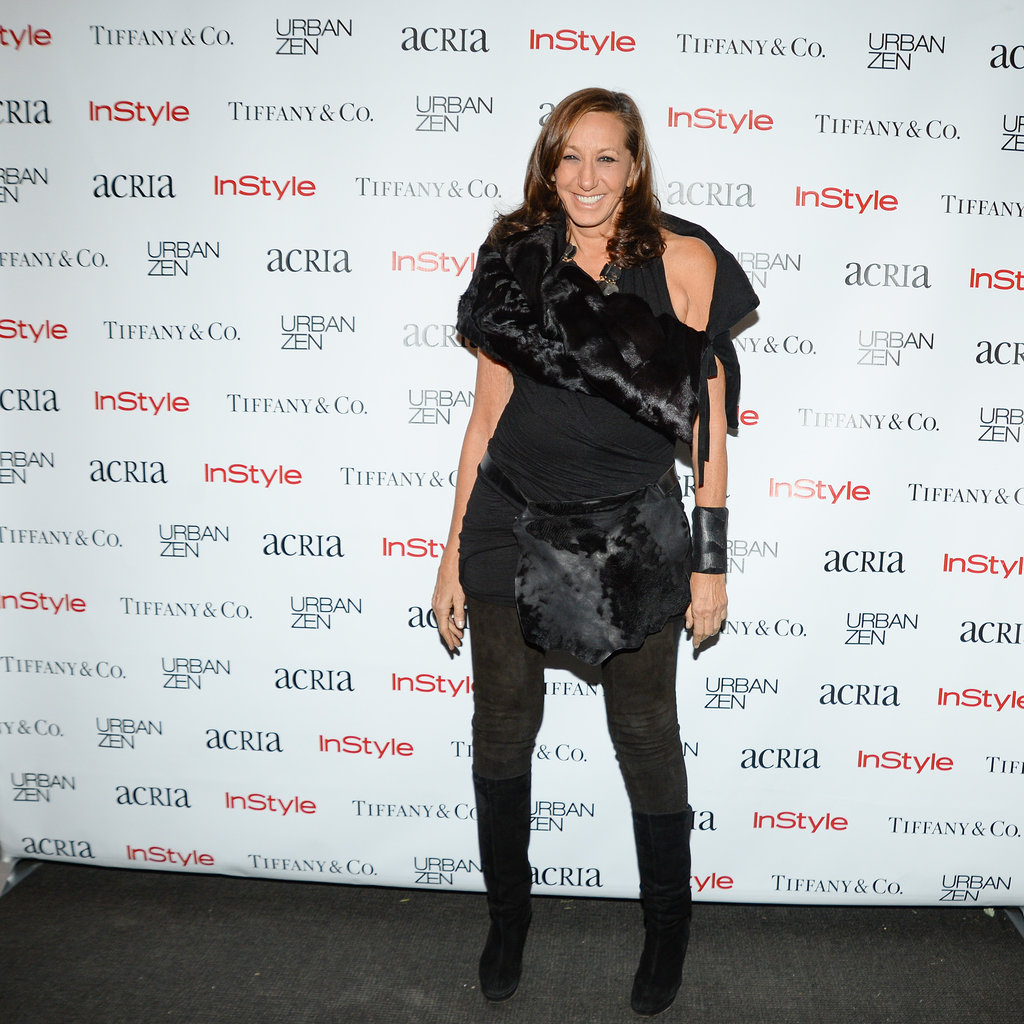 Donna Karan at the 18th annual ACRIA holiday dinner in New York.