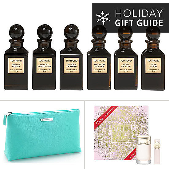 From makeup brushes to cosmetics cases and perfume sets, fashion designers are putting their coveted names on all things beauty this holiday season. Whether she's a label snob or just into the finer things in life, she'll be happy to unwrap one of these designer gifts.