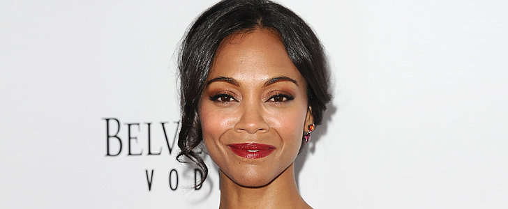 Zoe Saldana Shows How to Take a Chignon From Day to Date