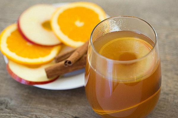 Hot Apple-Cider Rum
