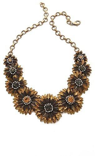 Deepa gurnani Floral Necklace