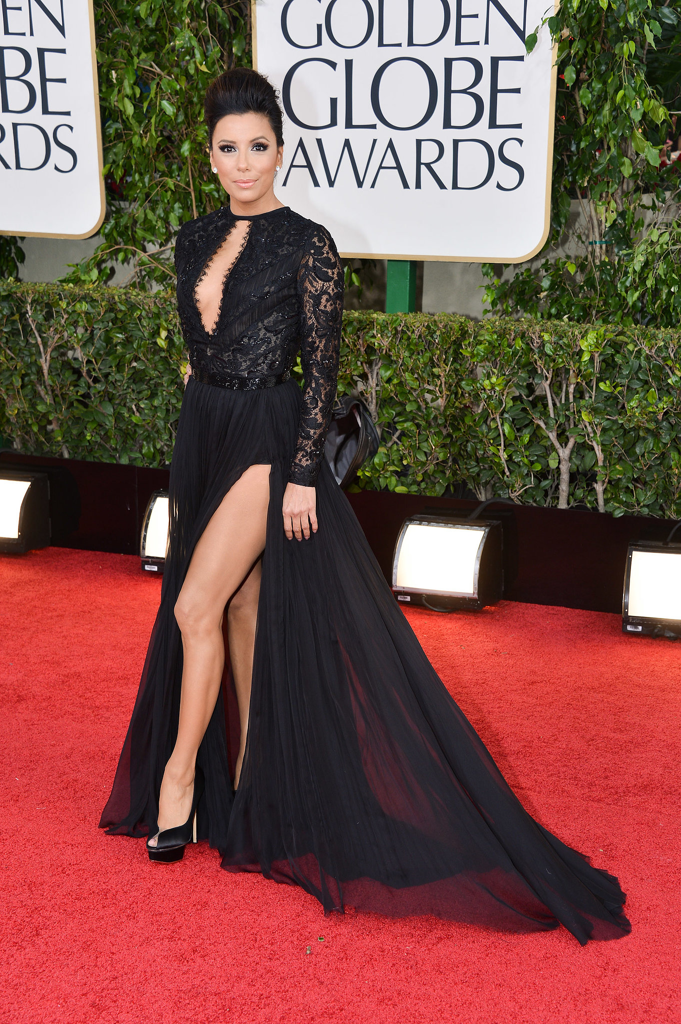 Eva Longoria at the Golden Globe Awards