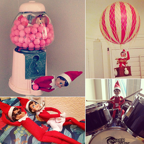 Straight From the North Pole: 66 Places to Put Your Elf on the Shelf