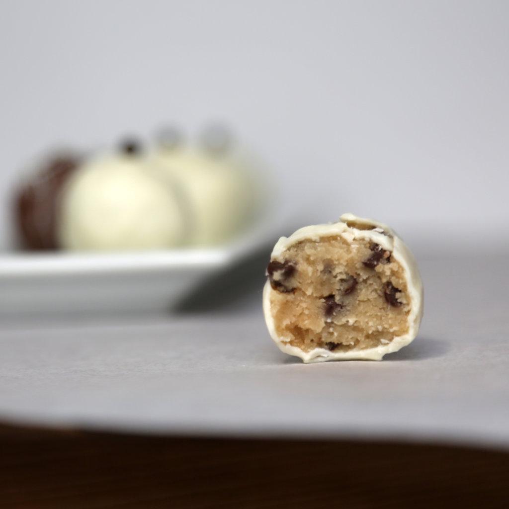 Intermediate: Chocolate Chip Cookie Dough Truffles