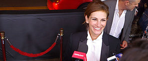 Julia Roberts Gets Racy With Us on the Red Carpet