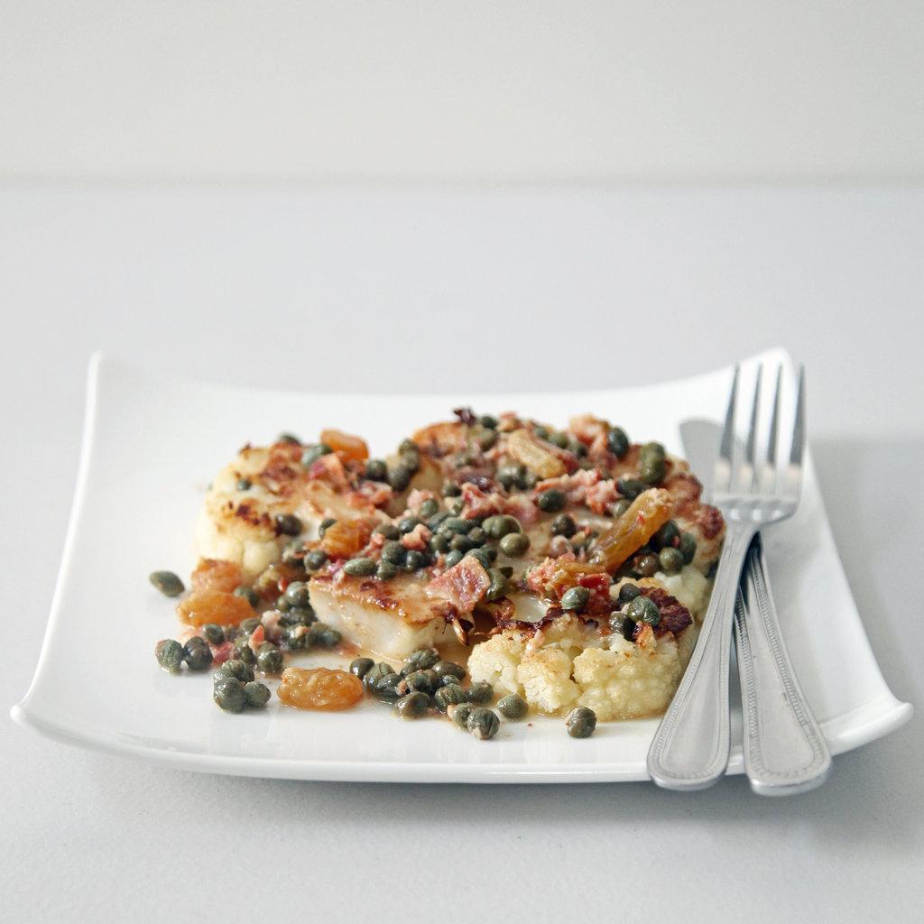 Intermediate: Cauliflower Steak With Pancetta