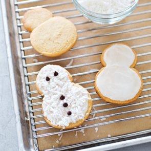 Snowmen Christmas Cookies Recipe