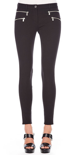 Michael Kors Stretch-Cotton Skinny Pants