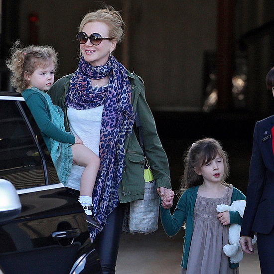 Nicole Kidman In Sydney With Kids
