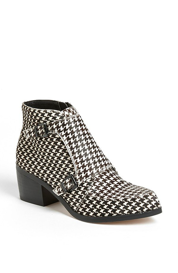 Houndstooth and monk strap? Say no more! These checkered Topshop booties ($170) could single-handedly launch a punk revival movement — I'll be waiting