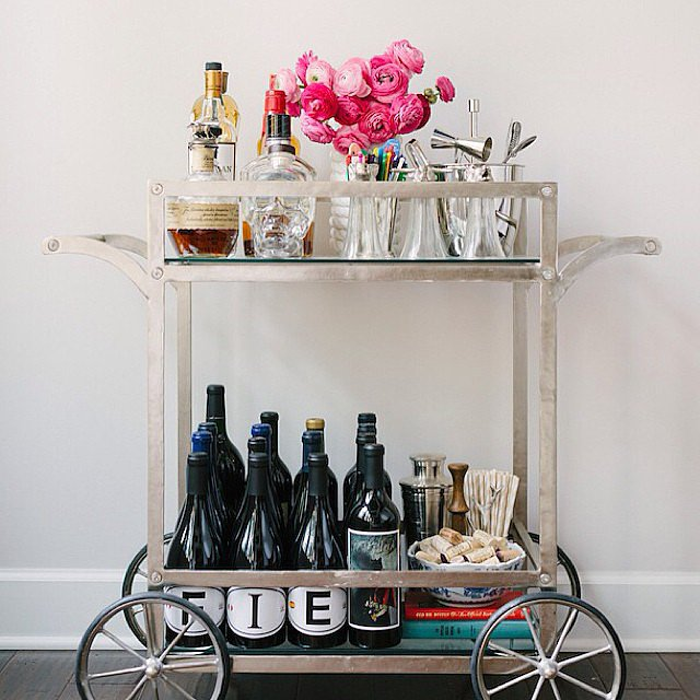 Jazz Up Your Bar Cart