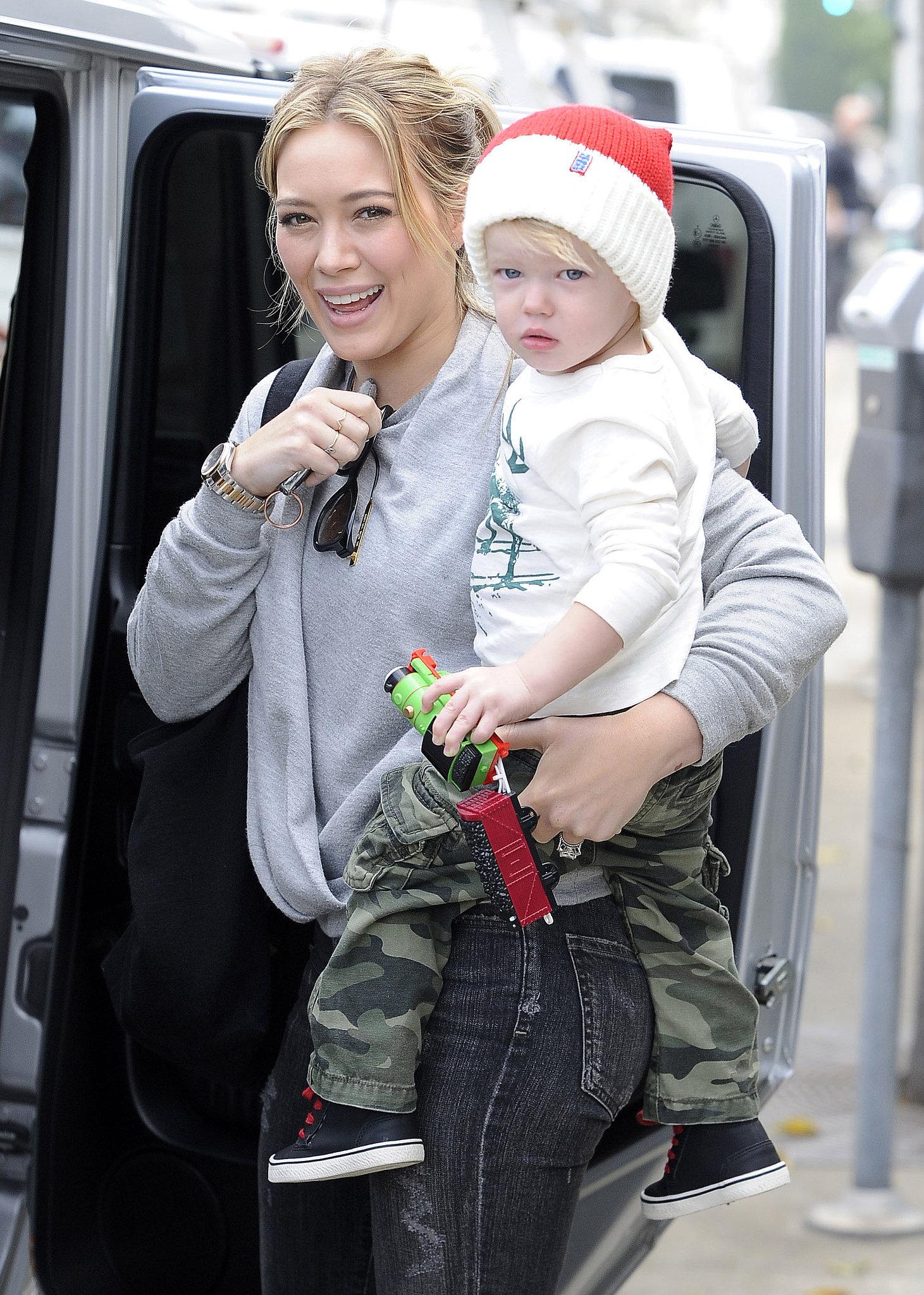 Hilary Duff son