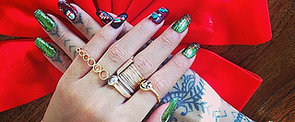 Even Rihanna is Getting in On the Holiday Nail Art Game