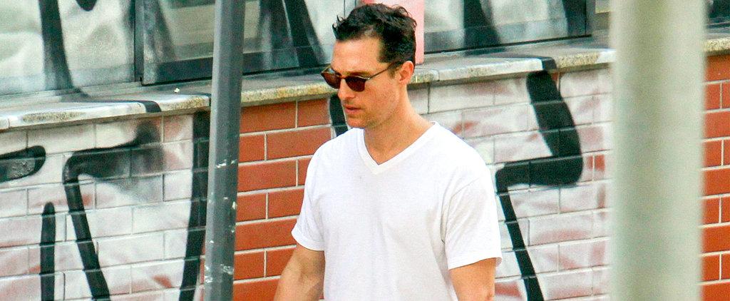 No Shoes, No Problem For Matthew McConaughey