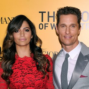 Matthew McConaughey and Camila Alves Hair at Premiere
