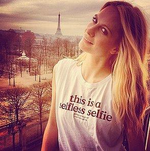 Poppy Delevingne Selfless Selfie