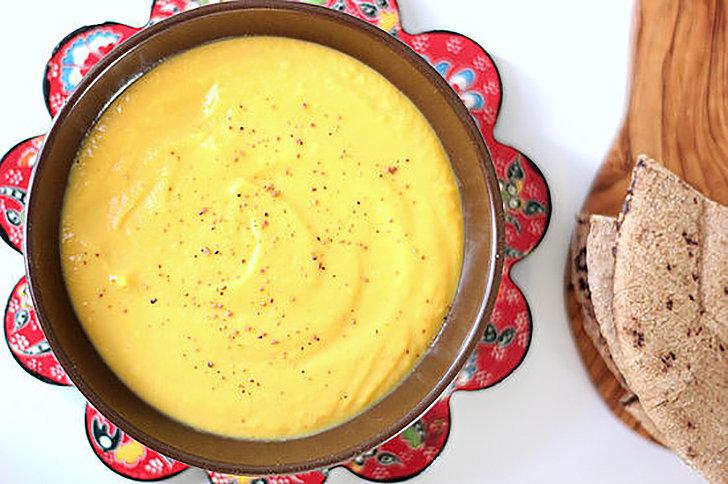 Snack: Kabocha Squash Hummus