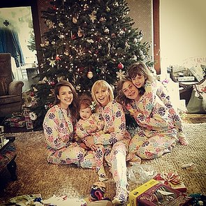 Celebrity Family Christmas Instagram Pictures