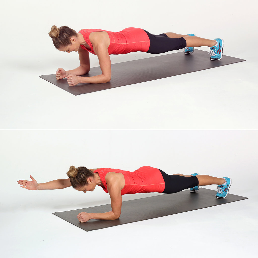 Elbow Plank and Reach | Rock Your Core: Circuit Workout ...