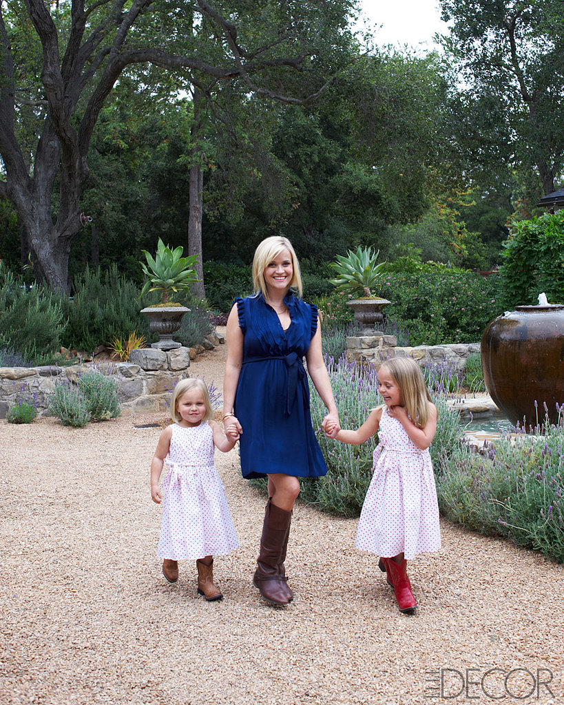 Reese witherspoon 39 s ojai home popsugar home for Cox at home