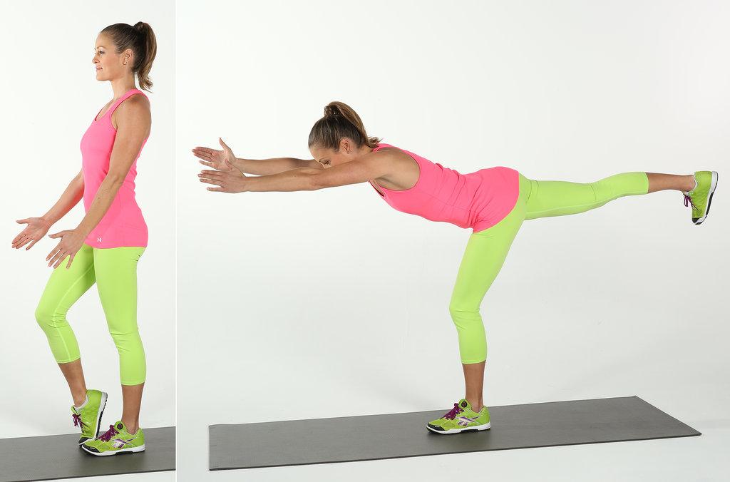 Core: Single-Leg Forward Reach