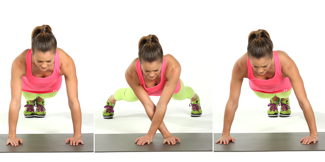 Upper Body and Core: Lateral Plank Walk