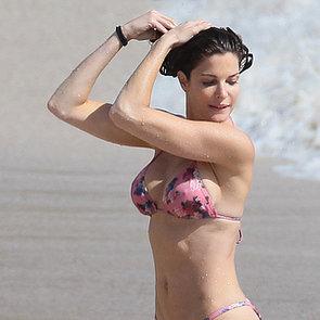 Stephanie Seymour in a Bikini in St. Barts