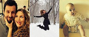 Im Sand oder Schnee – das sind die besten Promibilder der Woche