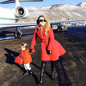 Celebrity Moms' Instagram Pictures Week of Dec. 29, 2013