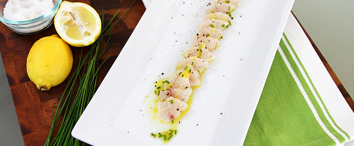 A Restaurant-Grade, No-Cook Halibut Crudo