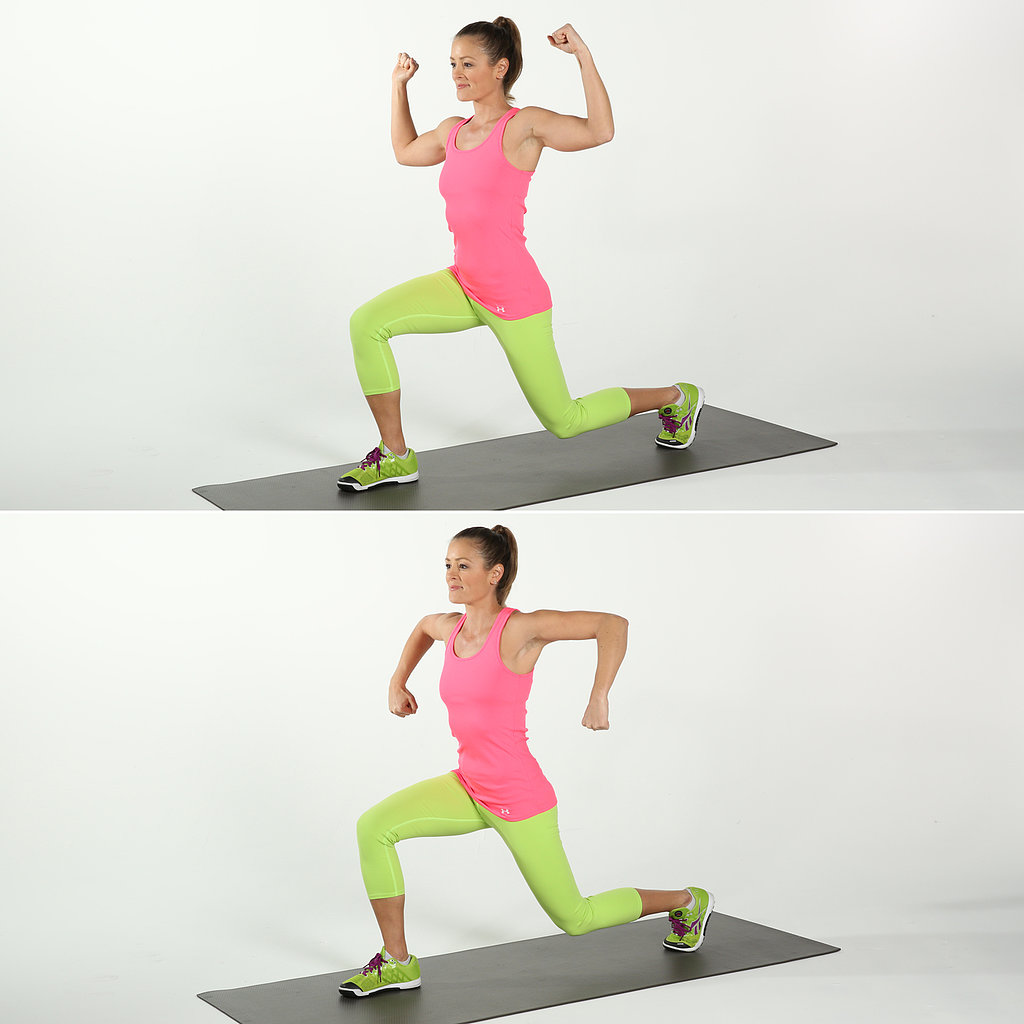 Lower Body: Scarecrow With Back Lunge