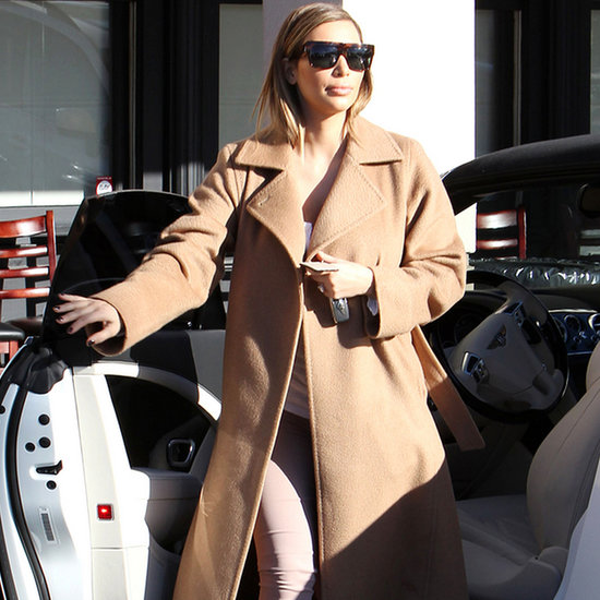 Kim Kardashian Style Camel Coat | Video
