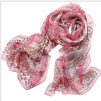 yarn chiffon scarves scarf - Thumbnail 1